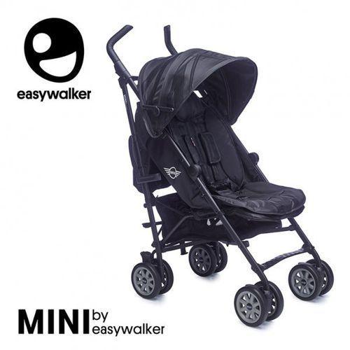 Mini by wózek spacerowy z osłonką przeciwdeszczową xl midnight jack marki Easywalker