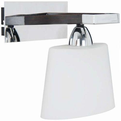 Kinkiet LAMPA ścienna BALATON LP-3831B/1W Light Prestige klasyczna OPRAWA minimalistyczna chrom biała (5907796360880)