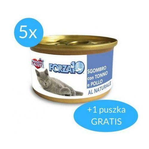 Forza10 Maintenance dla kota 5x75g + 75g GRATIS (450g): smak - makrela z tuńczykiem DOSTAWA 24h GRATIS od 99zł, 0425075