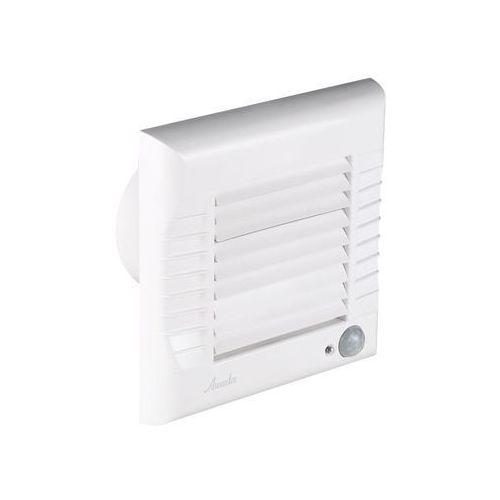 Wentylator łazienkowy A-Matic fi100 95m3/h 16W 230V z żaluzją automatyczną i czujnikiem ruchu biały Awenta WM100R (5905033299368)