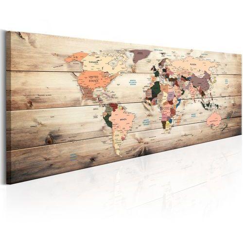 Obraz - mapy świata: mapa marzeń marki Artgeist