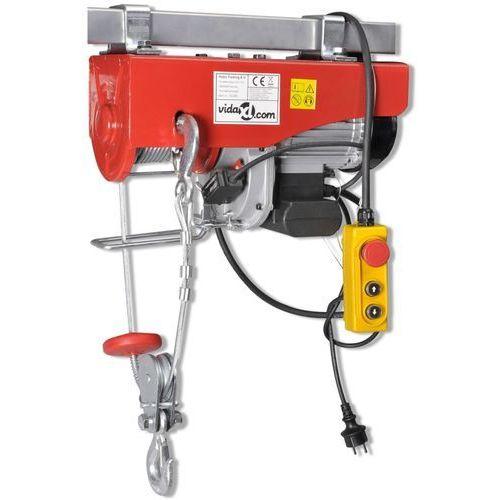 Vidaxl wciągarka elektryczna 1300 w, 500/999 kg (8718475891161)