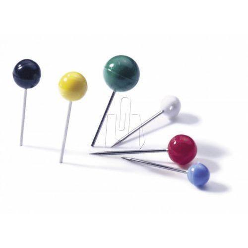 Szpilki z okrągłymi główkami 4/15mm EISBÄR® mix kolorów 100 sztuk 1924 00
