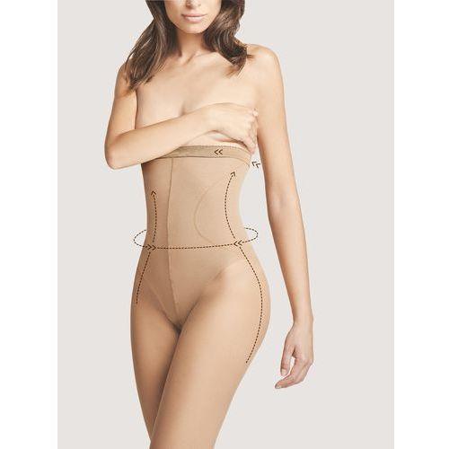 Fiore Rajstopy body care high waist bikini m 5114 20 d 4-l, czarny/nero, fiore