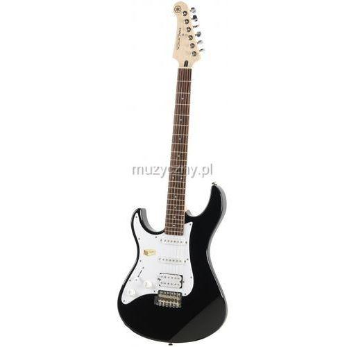 Yamaha  pacifica 112j bl left gitara elektryczna leworęczna, czarna