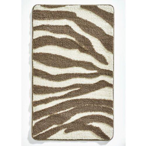 Dywaniki łazienkowe w animalistyczny deseń bonprix brązowy