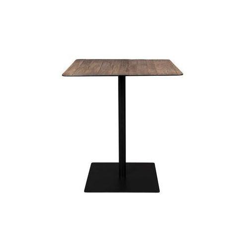 Dutchbone stolik barowy kwadratowy braza brązowy 2500012 (8718548043916)