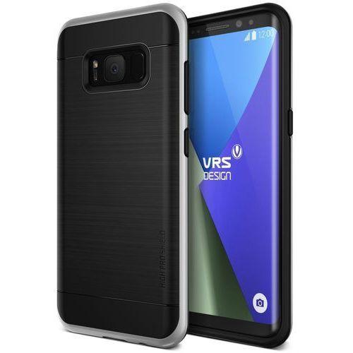 Etui VRS Design High Pro Shield Galaxy S8 Plus Light Silver