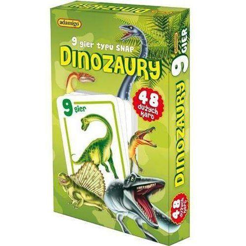Adamigo Gra karty snap - dinozaury