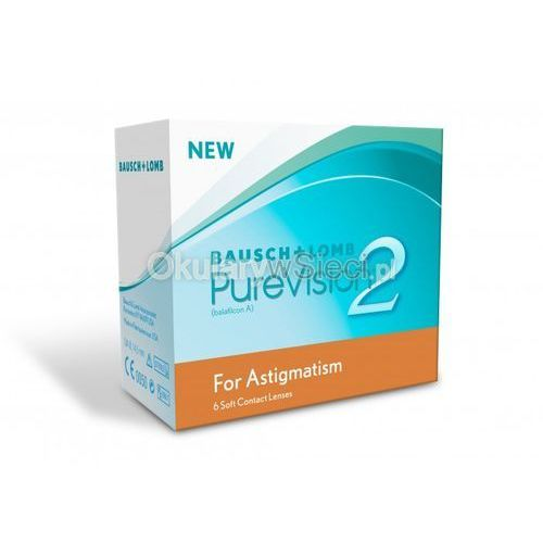 Purevision 2 for astigmatism 6 szt. marki Bausch&lomb