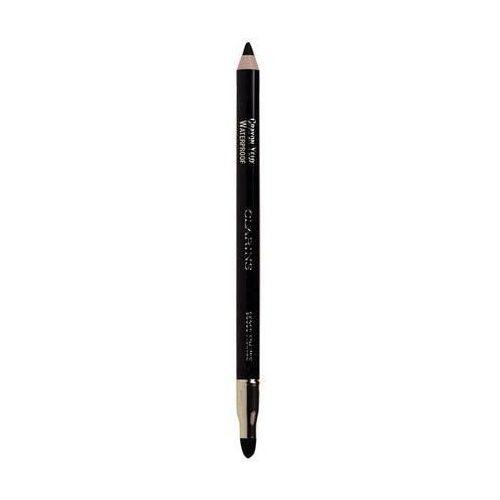 Clarins  eye make-up crayon wodoodporna kredka do oczu odcień 01 black (waterproof eye pencil) 1,2 g (3380814207114)