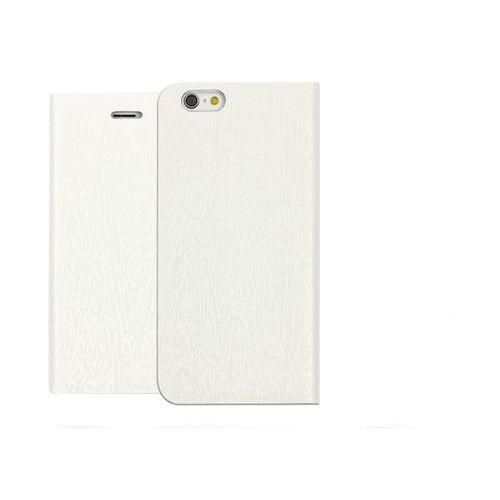 Apple iphone 6s - etui na telefon flex book - biały marki Etuo flex book