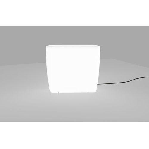 Lampa stojąca Nowodvorski Flowerpot 9713 L oprawa zewnętrzna donica2x60W E27 IP65 biała, 9713