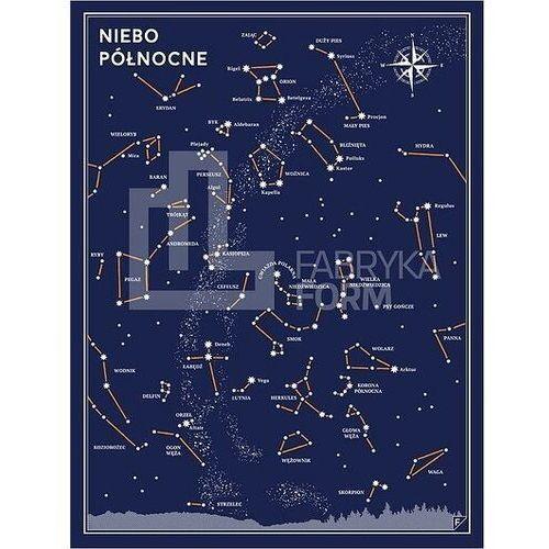 Plakat Niebo Północne 30 x 40 cm