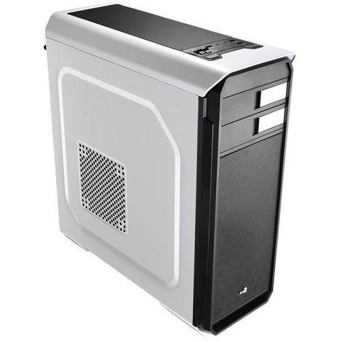 AEROCOOL AERO-500 WHITE, Obudowa ATX, USB 3.0, bez zasilacza (4713105955521)