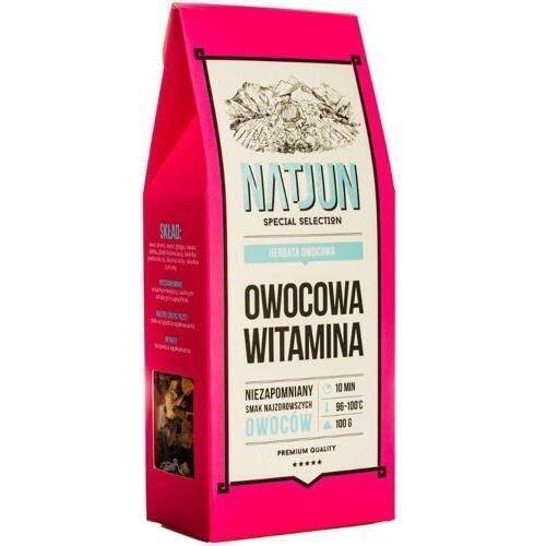 herbata owocowa owocowa witamina 100g marki Natjun