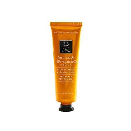 Apivita  express gold royal jelly maseczka do twarzy ujędrniająco-regenerująca 50 ml (5201279035785)