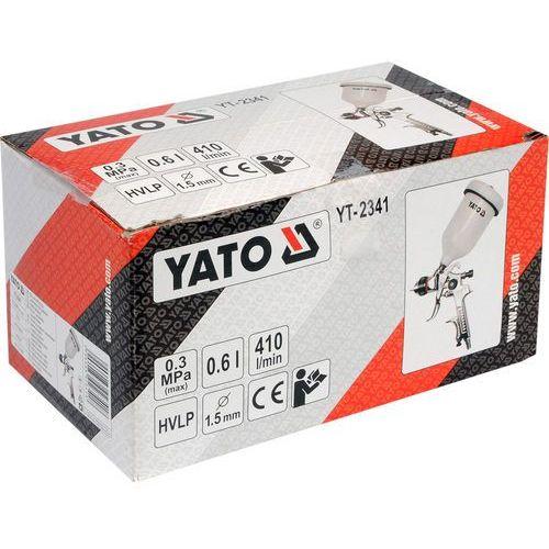 YATO Pistolet lakierniczy HVLP 0,6L 1,5mm