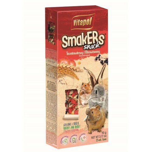 Vitapol smakers dla gryzoni - truskawkowy 2szt [1117] (5904479011176)