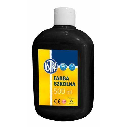 Farba plakatowa Astra czarna 500ml 834-905