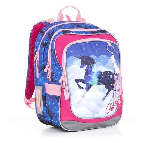 Plecak szkolny chi 843 d - blue marki Topgal
