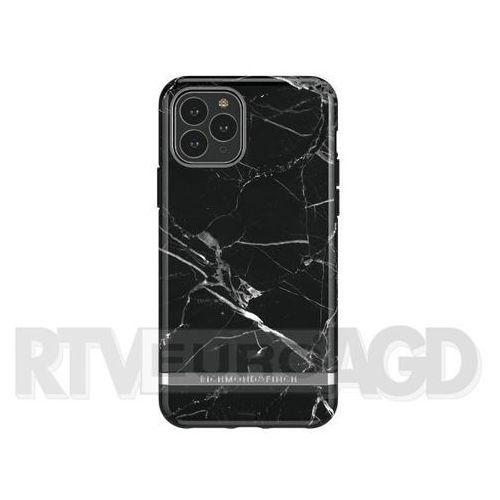 Richmond & Finch Black Marble - Silver Details iPhone 11 Pro Max, kolor czarny