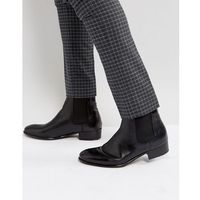 watts leather chelsea boots - black, H by hudson