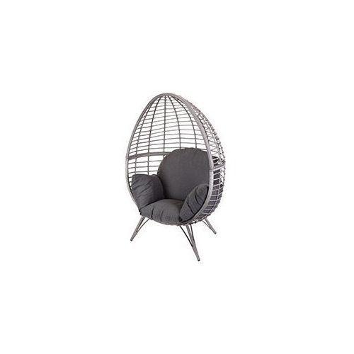 Pure garden & living Fotel technoratan kosz ogrodowy szary brąz dobrebaseny (8718158221940)