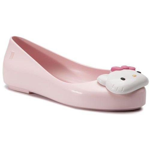 Melissa Baleriny - mel space love + hello kitty i 32678 pink/white 50552