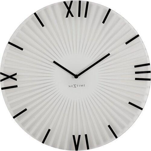 Zegar ścienny Sticks white, 8175wi