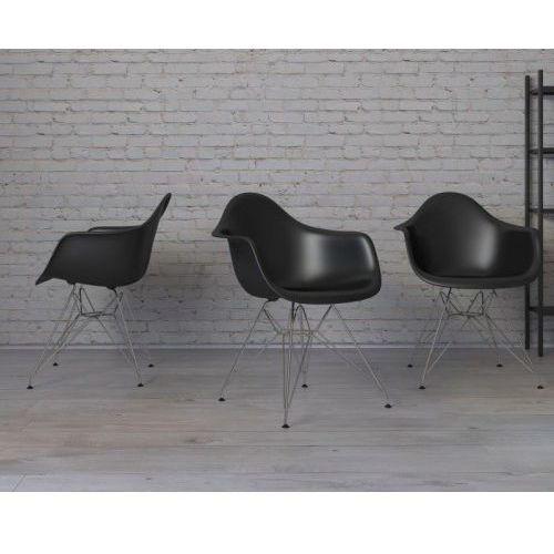 Krzesło P018 PP inspirowane DAR - czarny (5902385703253)