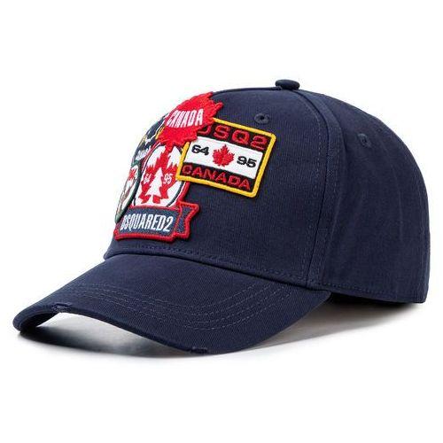 Czapka z daszkiem DSQUARED2 - Patch Cargo Baseball Caps BCM0242 05C00001 3073 Navy