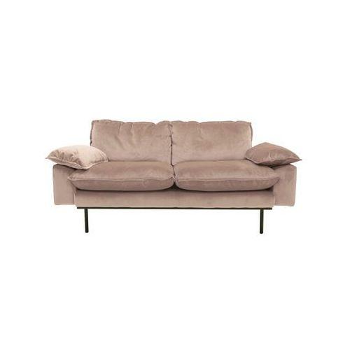 Hk living Sofa 2-osobowa tribeca - różne kolory cielisty
