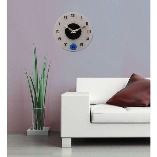 Zegar ścienny z wahadłem Milano Color Nextime 35 cm (8635) (8717713013082)