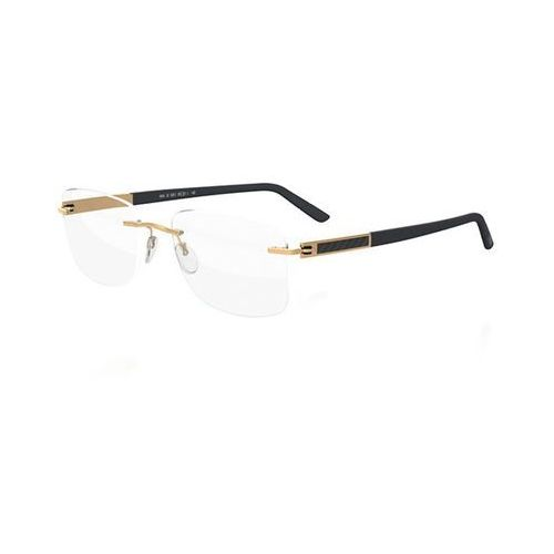 Silhouette Okulary korekcyjne  carbon intarsia 5404 6051