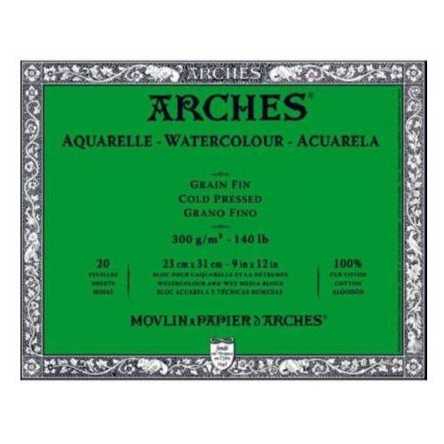 arches® karton do akwareli 56x76/10 arkuszy fin marki Canson