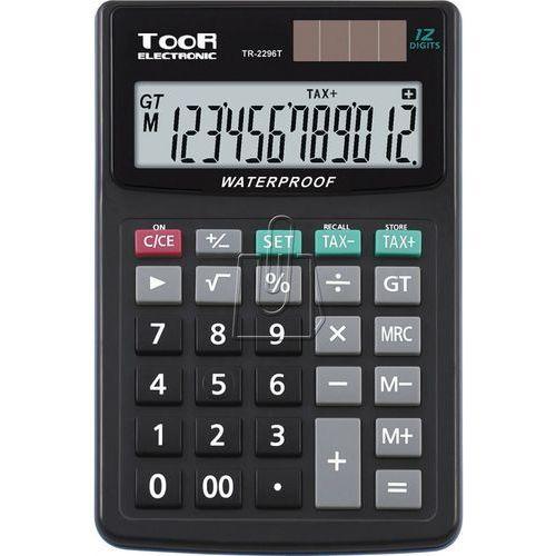 Kalkulator wodoodporny TR-2296T - TOOR ELECTRONIC, KW464