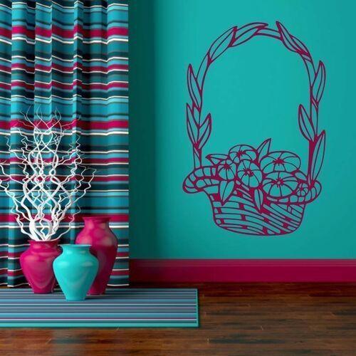 Wally - piękno dekoracji Naklejka kompozycja kwiatowa 2051