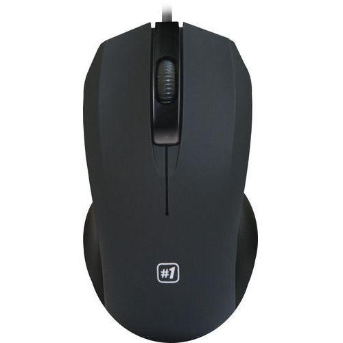 Mysz przewodowa Defender MM-310 optyczna 1000dpi czarna (4714033523103)