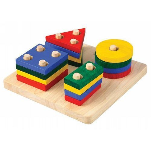 Plan toys Plansza z figurami geometrycznymi, kategoria: figurki dla dzieci