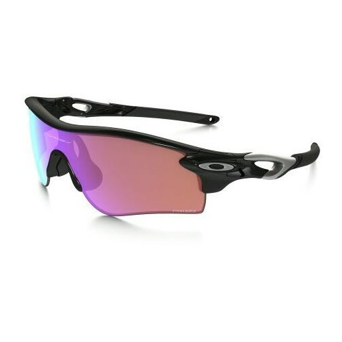 Okulary radarlock path polished black/prizm golf + slate iridium oo9181-42 marki Oakley