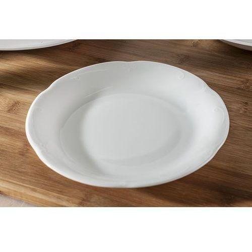 Chodzież biała kamelia talerz deserowy 19 cm c000 marki Chodzież / kamelia