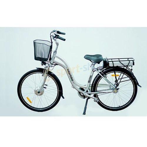 """Rower elektryczny mistral 28"""" lx (srebrny) marki Interbike"""