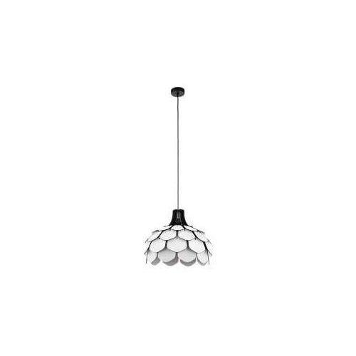 Eglo Morales 98316 lampa wisząca zwis oprawa 1x60W E27 biała/czarna (9002759983161)