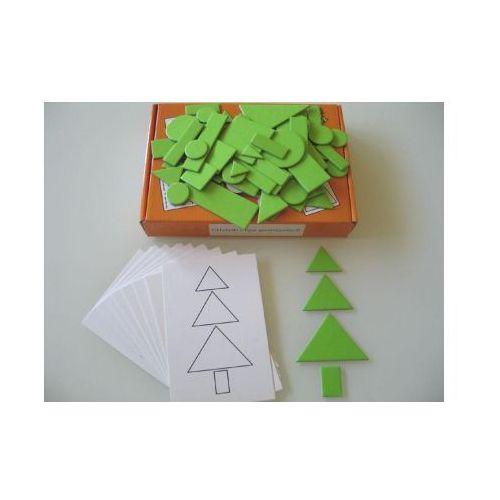 Zestaw dydaktyczny. układanki z figur geometrycz. marki Arson