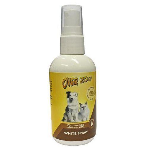 OVER ZOO White Spray Płyn Do Usuwania Przebarwień Sierści 100ml z kategorii Pielęgnacja psów