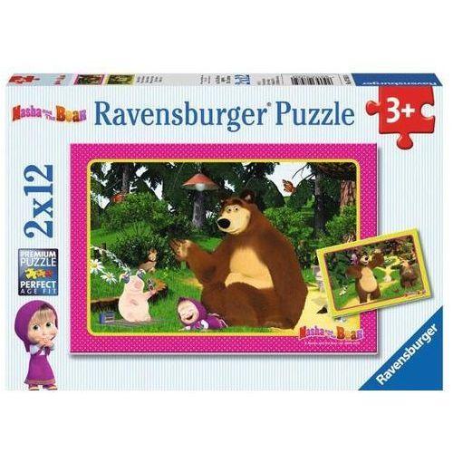 Puzzle 2X12 Masza i niedźwiedź