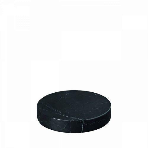 - podstawka marmurowa - 11 cm - pesa - czarna - czarny marki Blomus