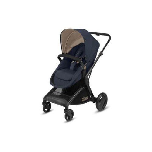 wózek spacerowy bimsi flex jeansy blue-niebieski marki Cbx