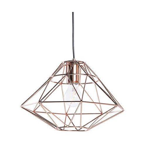 Beliani Lampa miedziana - sufitowa - żyrandol - lampa wisząca - guam (7105276982227)